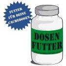 Dosen-Futter